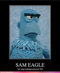 Sam The American Eagle - The Muppet Show